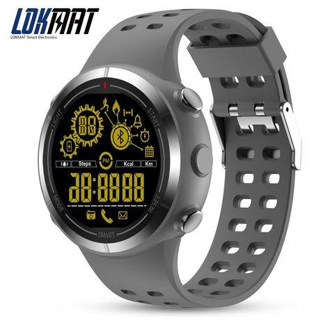 1af2f6b4e LOKMAT Sport Smart Watch Bluetooth Pedometer Waterproof IP68 5ATM digital  smartwatch men clock SmartWatch For iphone android