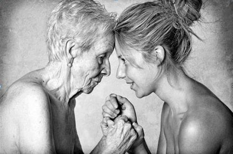 """Letter from a Mother to a Daughter: """"My dear girl, the day you see I'm getting old, I ask you to please be patient, but most of all, try to understand what I'm going through. If when we talk, I repeat the same thing a thousand times, don't interrupt to say: """"You said the same thing a minute ago""""… Just listen, please. Try to remember the times when you were little and I would read the same story night after night until you would fall asleep. When I don't want to take a bath, don't be mad and d..."""