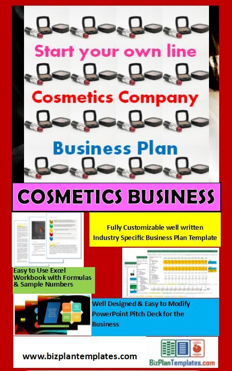 cosmetic business plan ppt