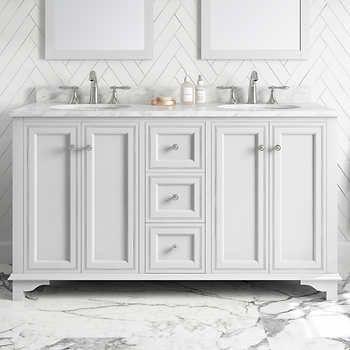 Ove Belle 60 In Vanity Vanity Stone Countertops Bathroom Redo