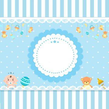 Cute Baby Shower Card Blue Color Welcome Baby Invitation Card Vintage Shower Png Transparent Clipart Image And Psd File For Free Download Kartu Bayi Kelahiran Anak Kartu