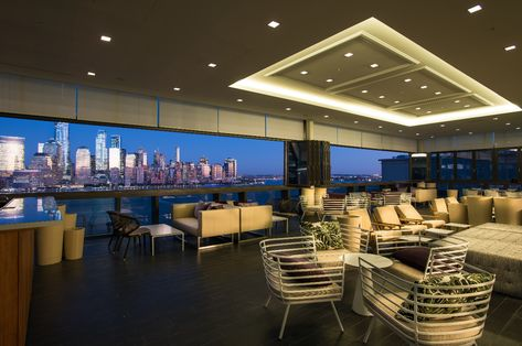 The Best View Of Nyc Will Be From This New Rooftop Bar In Jersey City Jersey City Rooftop City Restaurants