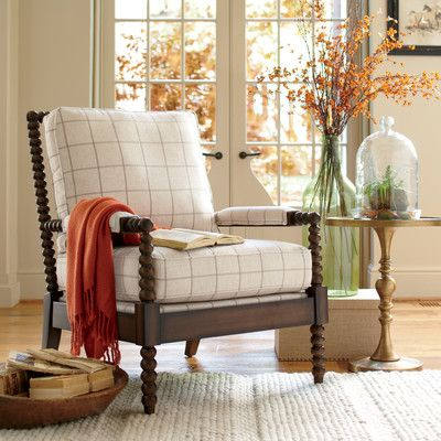Benedetta Armchair Living Room Accent Chairs Traditional