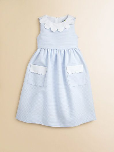 912414db6bfd Florence Eiseman - Toddler s   Little Girl s Striped Dress - Saks ...