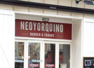 Neoyorquino Burguer Tragos Ponzano Ponzaning Restaurantes De Moda Madrid Turismo Viaje A Madrid