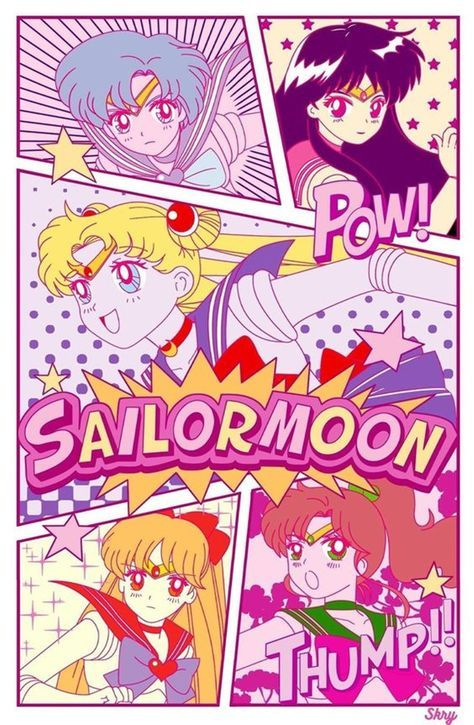 Sailor Moon & the Inner Sailor Scouts Sailor Jupiter, Sailor Moon S, Sailor Venus, Sailor Mars, Sailor Moon Makeup, Sailor Moon Crystal, Sailor Moon Aesthetic, Aesthetic Anime, Sailor Scouts