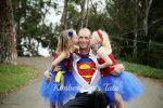 Superman and Superwoman Tutu Dresses
