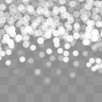 Circular Transparent Flat Background Bokeh Abstract Elegant Lights Defocused Holiday Blurred White Festive Glamour Bright Magic Bokeh Lights Color Vector Bokeh