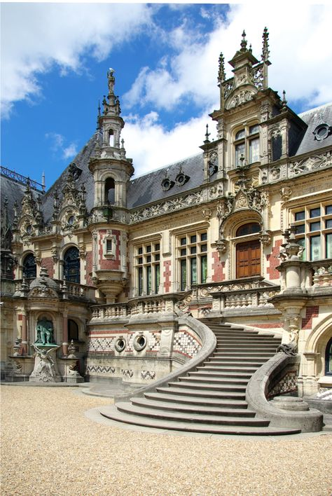 The Benedictine Palace, Fecamp, Upper Normandy, France Beautiful Castles, Beautiful Buildings, Beautiful Places, Ancient Architecture, Beautiful Architecture, Baroque Architecture, Places To Travel, Places To Go, French Castles