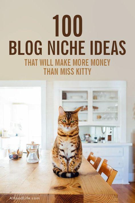 7 Blog Niches That Make Money + 100 Micro-Niche Ideas ~ A Hood Life