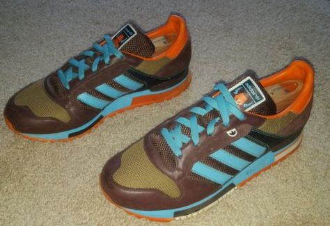 Rare Adidas ZX 600 CLAW Sample Edition Shoes ZX Flux Mita