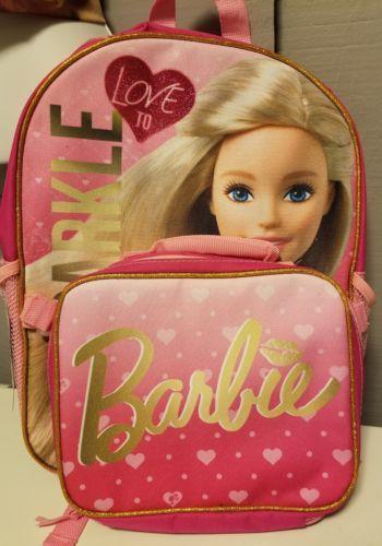 Barbie backpack NEW