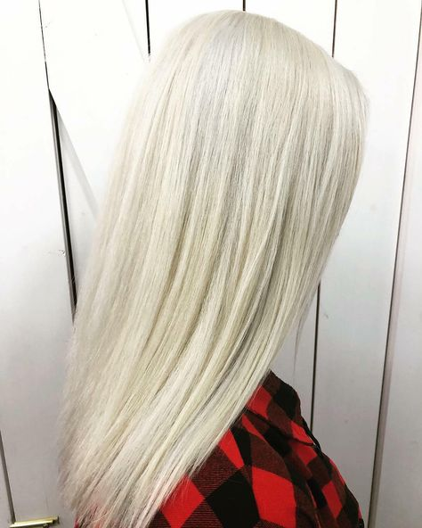 Sometimes self-care also means taking the time out of your day to have your hai -      💁♀️❄️ Sometimes self-care also means taking the time out of your day to have your hair transformed into this icey goodness. . So in love with the frostiness @hekahair was able to achieve on my locks.  I am feeling bright and even more ready to take on 2019! . Along with such a transformation does come some damage though, which is why it is so important to nourish your body in a way that will boost the health