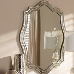 Jered Wall Mirror With Images Mirror Wall Mirror Framed Mirror Wall