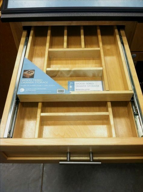 Rev A Shelf 4 25 In H X 11 5 In W X 21 In D Tiered Cutlery Drawer With Soft Close Blum Slides 4wtcd 15sc 1 Tool Drawers Kitchen Drawers Diy Kitchen
