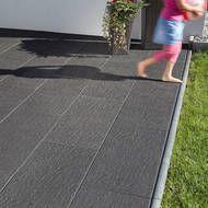 Keramikplatten Terrasse uhl verlegehinweise ceralight einbau keramikplatten