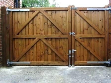 Image Result For Large Fence Gate Ideas Backyard Gates Wooden