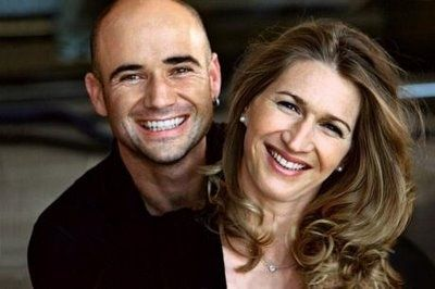 Andre Agassi and Stephanie Gra...
