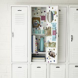 Dots Locker Starter KitYou can find Locker decorations and more on our website. Locker Mirror, Locker Shelves, Diy Locker, Locker Crafts, Cute Locker Decorations, Cute Locker Ideas, Middle School Lockers, Middle School Supplies, Locker Essentials