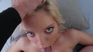 Trisha Parks Blonde Lingerie Model Pov