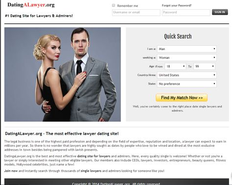 lawyer dating site