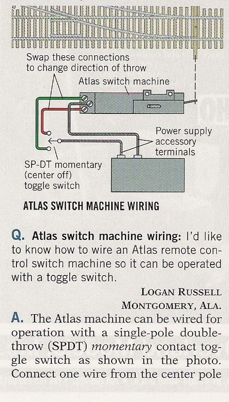 how to wire atlas remote switch machines and atlas switch Atlas Switch Wiring Diagram