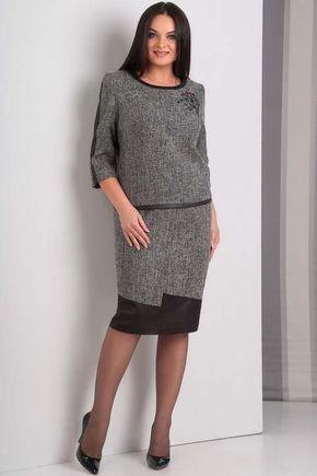 3a778b6550d Коллекция женской одежды больших размеров белорусской компании JURIMEX осень -зима 2018-19
