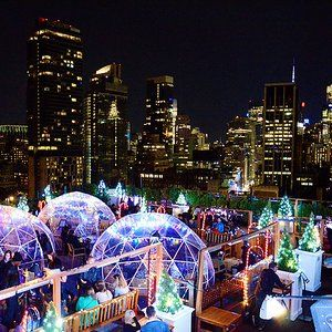 Sono Postmoderno Roof Top Bar Ink48 Hotel New York Nyc Rooftop New York Travel New York Rooftop