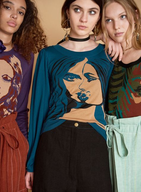 See the complete Sonia Rykiel Resort 2018 collection.