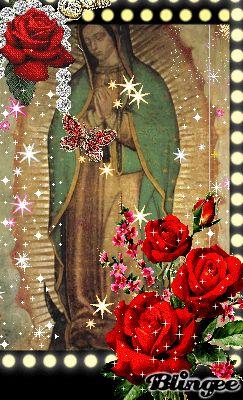 santa virgen de guadalupe