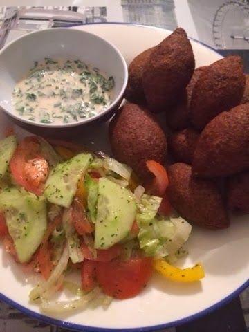 Kebab Bu0027il Karaz - Syrische Lammfleischbällchen in - syrische küche rezepte