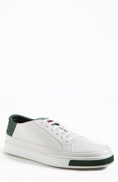 3797d4b07 Gucci 'Common' Low-Top Sneaker (Men) available at #Nordstrom | For The  Guys. | Sneakers, Gucci sneakers, Sneakers nike