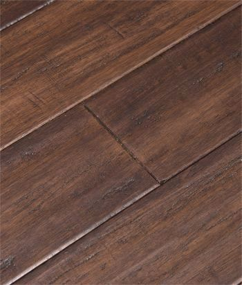 Click Lock Floating Floors In Bordeaux By Cali Bamboo Feat