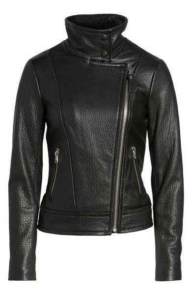 Mackage Lisa Signature Leather Jacket Jackets Leather Jacket Mackage