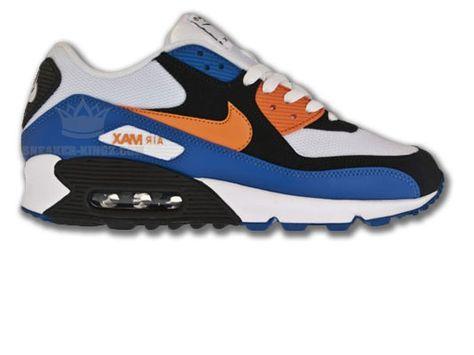 Nike Air Max 90 Blau Schwarz Weiss Orange Nike Air Max Nike Air Nike