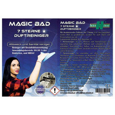 Magic Bad – 7 Sterne Reiniger mit Desinfektionswirkung
