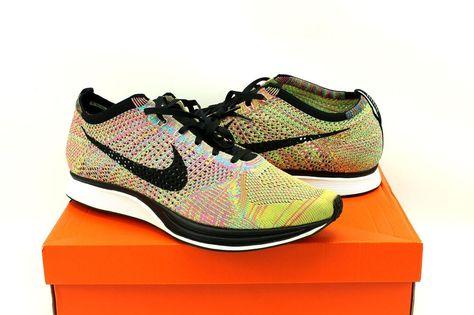 858e9ebf1280f Nike Flyknit Racer Multi-Color Running Shoes 526628-004 Womens 15.5   Mens  14  Nike  RunningCrossTraining  weboys10
