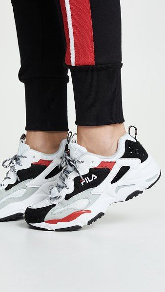 Fila ray tracer sneakers. #fila #sneakers #shoes #activewear