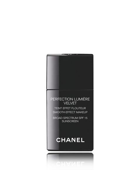 CHANEL | PERFECTION LUMIÈRE VELVET Smooth-Effect Makeup Broad Spectrum SPF 15 Sunscreen | Macy's
