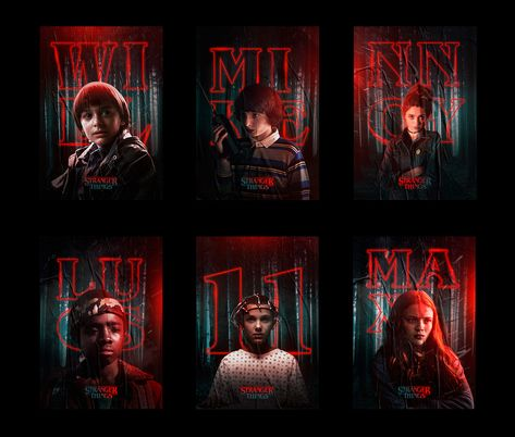 Rigved Sathe Stranger Things Posters (1)