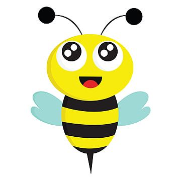 Bee Vector Color Illustration Bee Clipart Insect Honey Png And Vector With Transparent Background For Free Download Cartoon Bee Bee Icon Bee Clipart