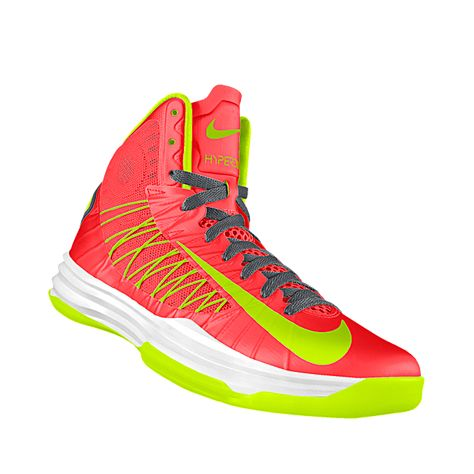 huge selection of cf378 c21f9 Custom Nike Hyperdunk iD Women s Basketball Shoe I would do the same colors  but