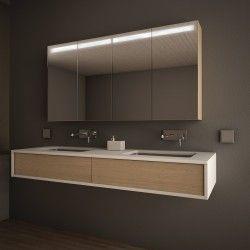 Badezimmer Spiegelschrank Linja Beleuchtet Badezimmer