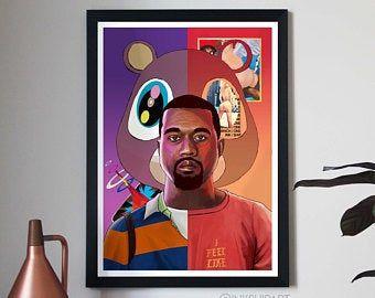 Wall Decor Etsy In 2020 Music Art Print Gallery Wrap Canvas Art Album