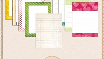 my life in lowercase: free printable journaling cards for project life