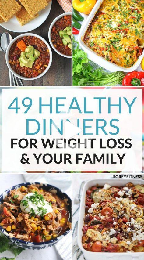 Machen Sie Mahlzeitvorbereitung einfacher, mit diesen gesunden Abendessen Ideen für die Gewichtsabnahme! Genießen Sie eine köstliche Mahlzeit mit Ihrem Lieblings mit diesen einfachen gesunden Abendessen Rezepte! #gesunderezepte