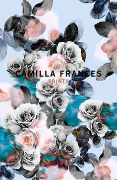 Camilla Frances is a individual print creator, leading a team that combines unique, personal design sensibilities with traditional hand drawing techniques to craft an ever-growing world of prints.
