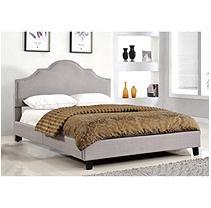 Madison Upholstered Platform Bed Queen Upholstered Platform Bed