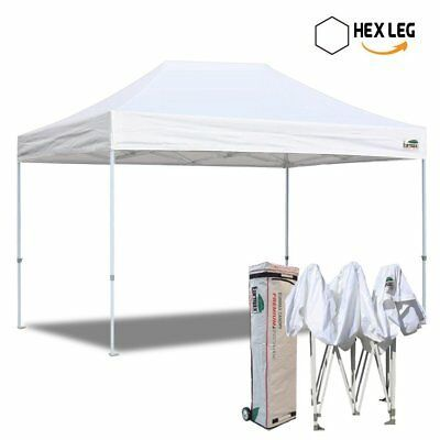 Advertisement Ebay Waterproof Ez Pop Up Canopy 10x15 White Patio Gazebo Instant Trade Show Tent Gazebo Instant Canopy Party Gazebo