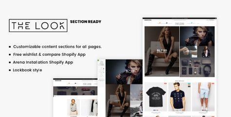 Minimal Fashion Shopify Theme The Look Free Download Online Fashion Stores Minimal Fashion Web Design